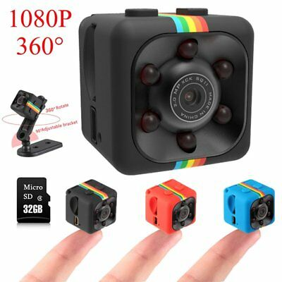 SQ11 Full HD1080P Mini Car Oculta DV DVR Cámara Espía Dash Cam IR Visión Noctura
