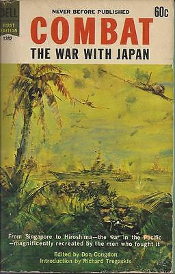 (STL) Combat, The War With Japan edited by Don Congdon