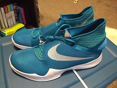... hot nike zoom hyperrev tb basketball shoes teal white size 17.5 835439  302 c7914 5f4b4 194f3b9d7