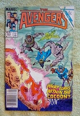 The Avengers #263 (Jan 1986, Marvel) 5.5 FN- 1st Modern Age iss Cameo Jean Grey