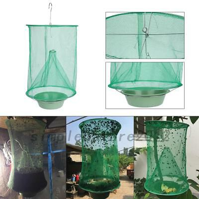 Reusable Pest Control Fly kill Trap Tools Hanging Fly Catcher Killer Net SN
