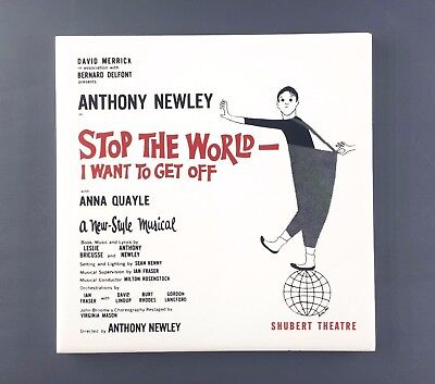 "RICHARDS ""Stop The World - I Want To Get Off"" Vintage Ceramic Tile (England)"