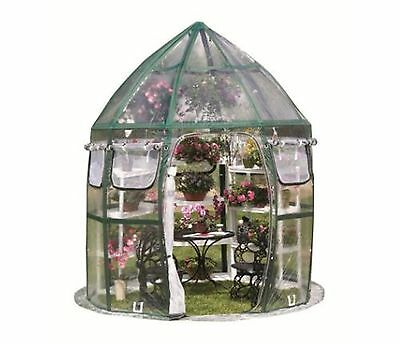 Conservatory 8 ft. x 8 ft. Pop-Up Greenhouse Home Safe Grow Plant Shelter Garden