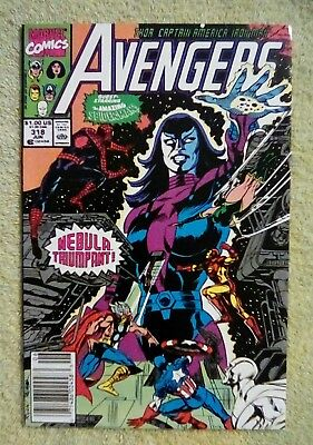 The Avengers #318 (Jun 1990, Marvel) 6.0 FN ( Spider-Man, Nebula)