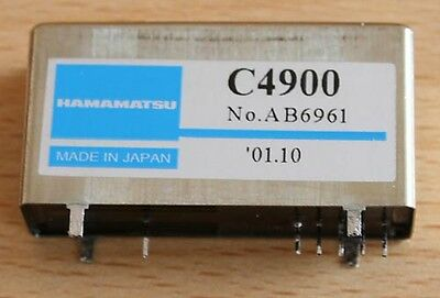 C4900 Hamamatsu , HV-Power Supply 0...-1250 V  f. Photomultiplier