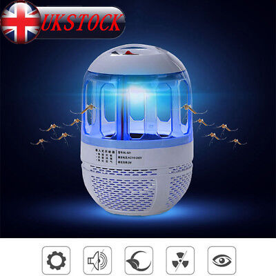 USB Electric 6LED Light Mosquito Killer Fly Bug Insect Zapper Trap Catcher Lamp
