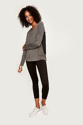 Lole Women`s Able Top Black Heather XS