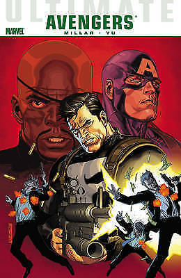 Ultimate Comics Avengers Vol. 2: Crime and Punishment-ExLibrary