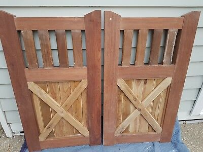 DOUBLE OPENING Fence GATE 1225 x 1400 VICTORIAN COLONIAL GATES  RRP: $1.7K+
