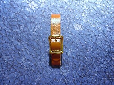 1 New 1/2 inch Brown Leather Pocket Watch Fob Strap