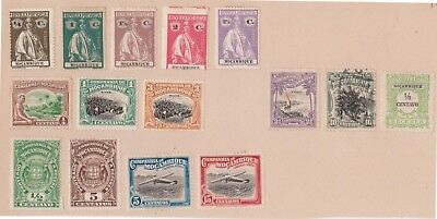 (K78-21) 1900-45 Portugal colonies Mozambique 15stamps (U)