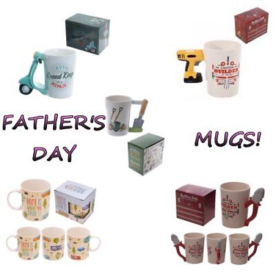Father's Day Mugs Fathers Day Mug Dad Father Gift Present Occasion Cup Tea