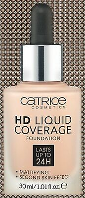 Catrice Hd Liquid Coverage Foundation 30Ml/ Lasts Up To 24H/ Choose Colour