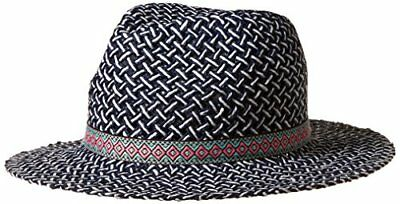 competitive price 004cb 594c4 NWT Cap Hat Genie by Eugenia Kim Women s Billie Fedora, Navy White, One