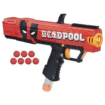 Kids Deadpool Nerf Rival Apollo XV 700 Blaster 7 Dart Balls Your Kid Toy 1 Pack