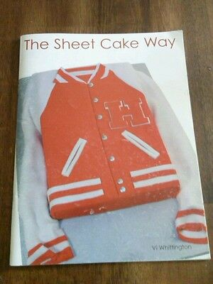 The Sheet Cake Way For Decorating Vi Whittington Retro Ideas Paperback Designs