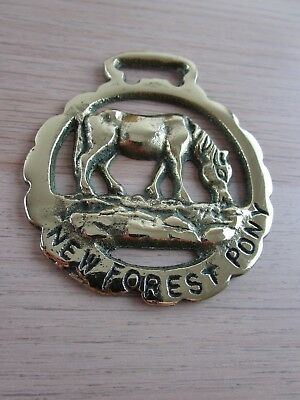 Horse Brass New Forest Horse Shoe
