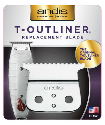 Andis T-Outliner Carbon-Steel Replacement Blade #04521