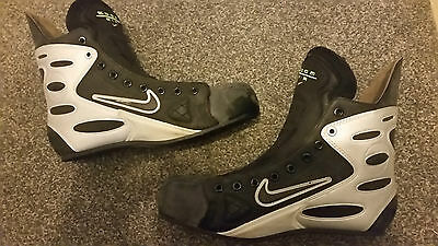 Nike Bauer zoom inline hockey skates boot (ice/quad roller conversion/Tug of war