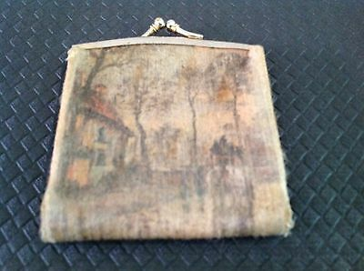 Made In Italy Vintage / Antique Coin Purse.