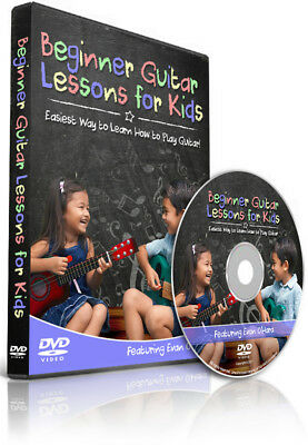 Beginner Guitar Lessons for Kids - Easiest Way to Learn How to Play Guitar - DVD