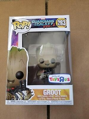 """Funko Pop! Guardians Of The Galaxy 2 Groot Holding Bomb Toys """"r"""" Us"""