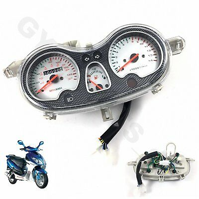 Instrument Speedometer Gauge Carbon Gy6 Chinese Scooter Jmstar Taotao Baotian