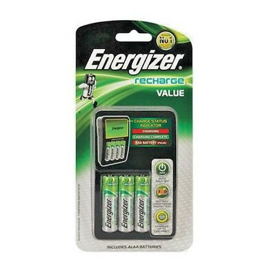 (OUT OF STOCK) ENERGIZER Recharge Value Charger For AA, AAA Battery CHVCM4 New