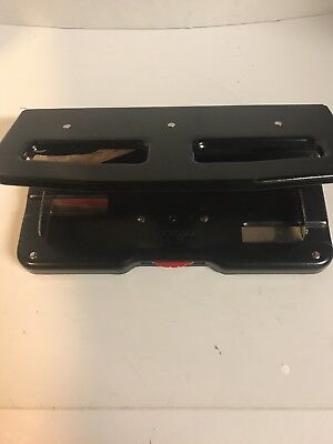 Rolodex Punchodex No P-99  3 Hole Punch