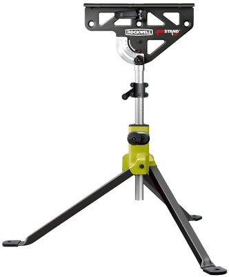Rockwell Sawhorse 33 In JawStand Built In Clamp Tripod Base Bubble Indicator