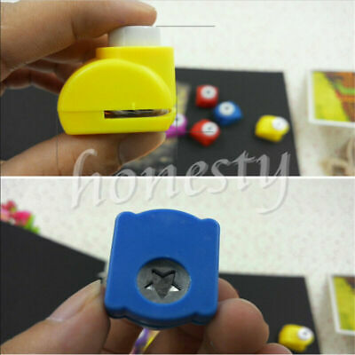 Mini Paper Cut Punch Scrapbook Card Craft Cutter Stencil Handheld Making Hole