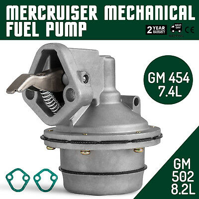 Get Fuel Pump For Mercruiser 7.4L 8.2L Mounts Raw Water Pump 861677T Sell