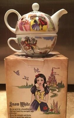 Paul Cardew  Design SNOW WHITE  Tea- for - One  Set  NEW IN BOX