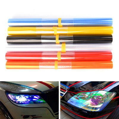 Chameleon Color Changing Tint Vinyl Wrap Sticker Headlight Film Car Light Lamp @