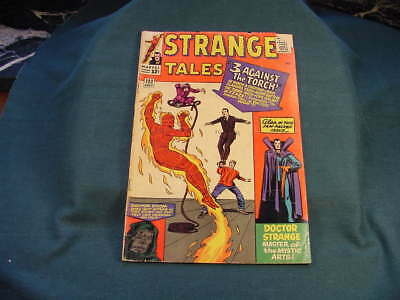 No 122 July 1964 Strange Tales Human Torch Marvel Comic Book Very Good Condition