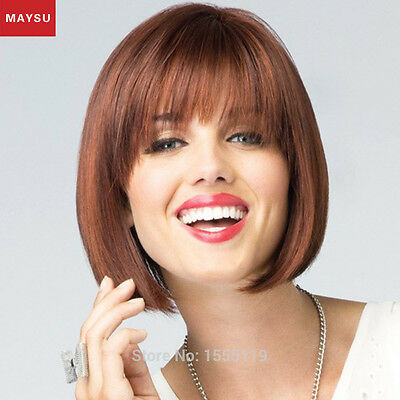 MAYSU Short Human Hair Wigs For Women Human Hair Bob Wigs Short Bob Wigs