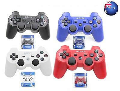 New Genuine PS3 Sony PlayStation 3 DualShock 3 Wireless Sixaxis Controller AU