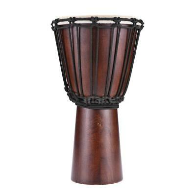 Professional African Drum Schaffell Material 8-inch Classic African Drum S3Q0