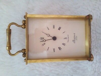 vintage carriage clock make is rapport. ideal for parts or fixing.