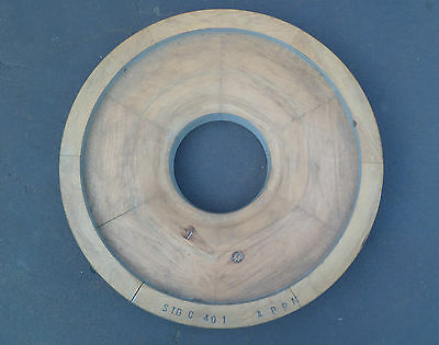 Antique Industrial Wooden Wheel Foundry Pattern Casting Mold (1 Piece)