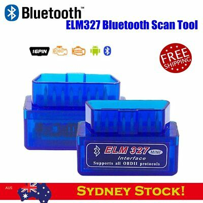 OBD2 ELM327 V2.1 OBD-II Bluetooth Car Scanner Torque Auto Scan Tool for Android