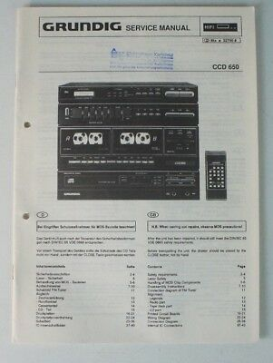 SERVICE MANUAL AUDIOVOX AVX 935 english Information Schaltplan ...