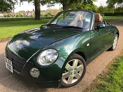 DAIHATSU COPEN CONVERTIBLE, Only 26K Miles, Full Uk History From New, Long  Mot
