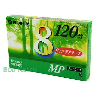 Fujifilm Video 8 120 High Quality 8mm 120 Minutes Camcorder Video Tape