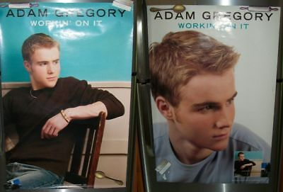 """Adam Gregory HUGE Double-sided POSTER wall photo 24"""" x 36"""" Workin' On It"""