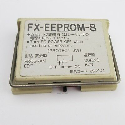 1Pcs Used Mitsubishi FX-EEPROM-8 Memory Card cp