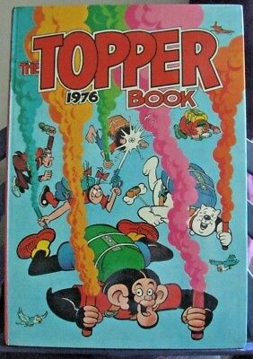 The Topper Book 1976 by DC Thopmpson