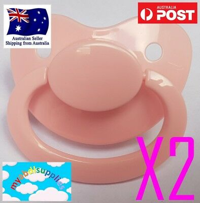 Adult Pacifier Twin Pack Free Postage Australia