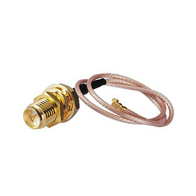 U.FL/IPX  Connector to RP SMA Female Adapter  - Pigtail RG 178 Cable - UK Seller