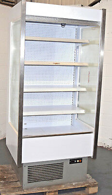 FRILIXA Open Multi Deck Chiller Fridge Dairy Milk Drinks Cans Commercial
